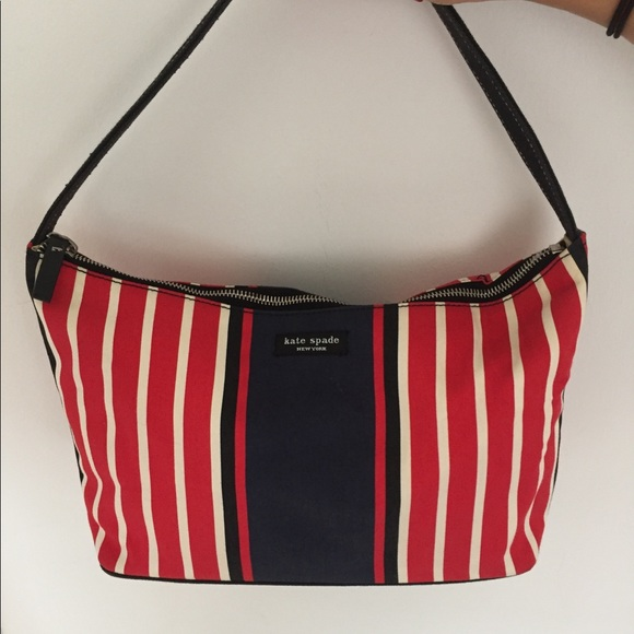 Kate Spade Bags Red White And Blue Vintage Purse Poshmark
